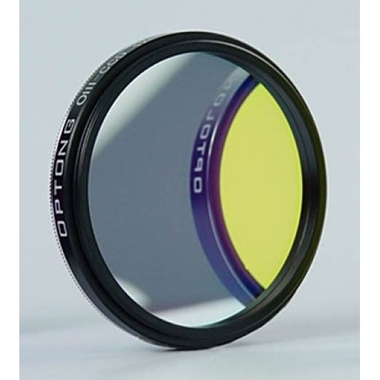 """Optolong OIII-CCD 6.5nm Extra Narrow Band Deep Sky Imaging Filter 1.25"""" for CCD Astro Photography"""