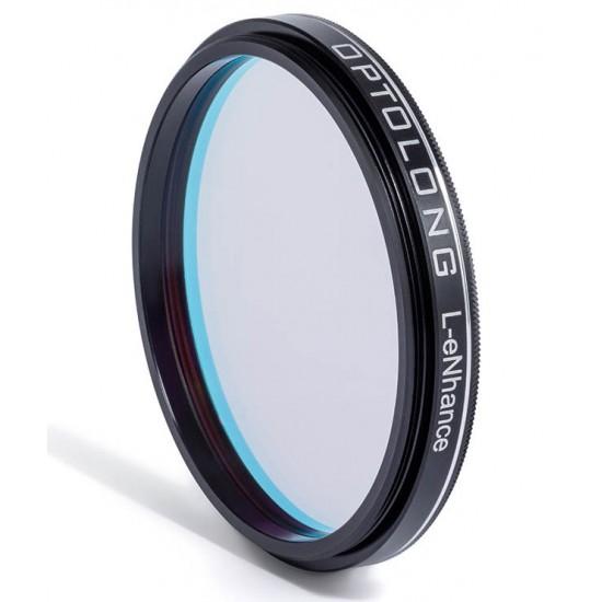 "Optolong L-eNhance Light Pollution Triple-Bandpass Narrowband Imaging Filter - 1.25"""