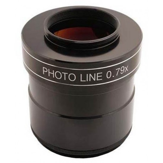 """TS-Optics PHOTOLINE 3"""" 0.79X  3-element Reducer and Field Flattener / Corrector for Astrophotography"""