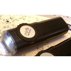 Rigel SkyLite RED and WHITE Water Resistant Flashlight with Brightness Control
