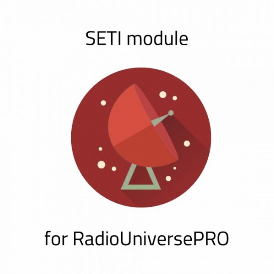 SETI Module for RadioUniversePRO for SPIDER Radio Telescopes