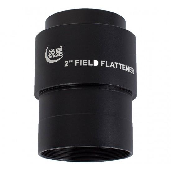 """Sharpstar Large 2"""" Field Flattener for Triplet APO Refractors"""