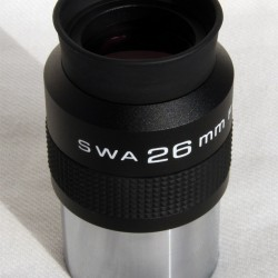 26mm SWA Super Wide Angle Eyepiece 70-degree 2-inch
