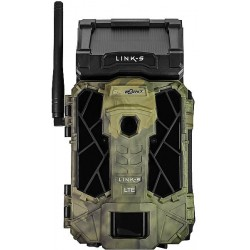 Spypoint LINK-S Camo 12MP Solar Powered Trail / Surveillance Camera with 42 Super Low-Glow IR LED Illumination