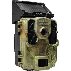 Spypoint SOLAR Camo 12MP Solar Powered Trail / Surveillance Camera with 42 Super Low-Glow IR LED Illumination