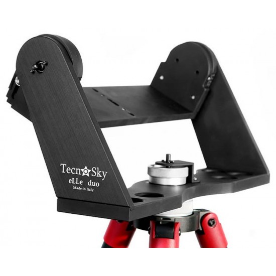 Tecnosky eLLe Duo Mount for Binoculars and Small Telescopes with Encoder Mounts and ENCODERS