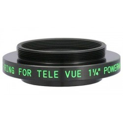 """TeleVue 1.25"""" Power Mate PMT T-Ring Adapter for 2.5x & 5x 1.25"""" Powermates"""