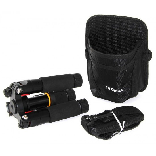 TS Optics A255FS3 - Ultra-Compact Heavy-duty Tripod for Travelling and Hiking