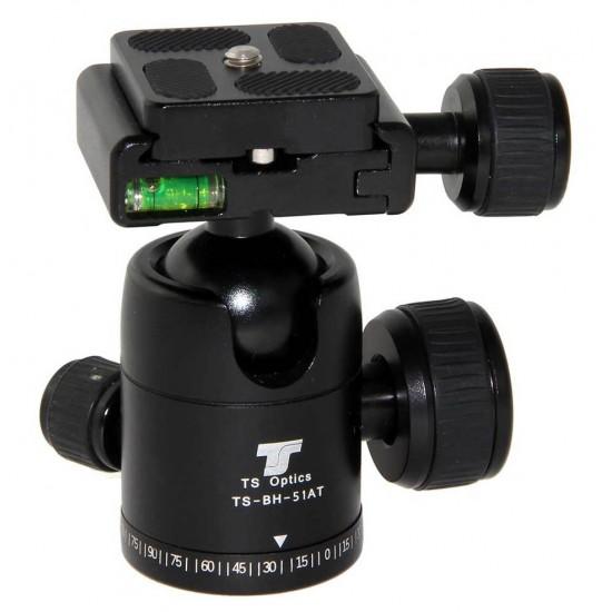 TS Optics BH-51AT Compact Ballhead for Photo Tripods