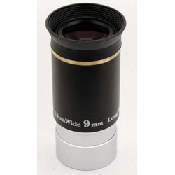 "TS Ultra Wide Angle Eyepiece 9mm 1.25"" 66° with Improved Coating"