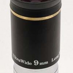 """TS Ultra Wide Angle Eyepiece 9mm 1.25"""" 66° with Improved Coating"""