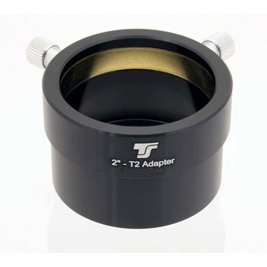 """TS 2"""" Eyepiece Holder with Female T-thread - Adaptor from T2 thread to 2"""" female"""