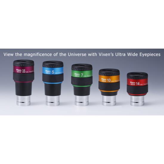 "VIXEN SSW ED 5mm Ultra Wide Eyepiece, 1.25"""