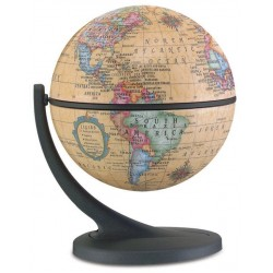 "4.3"" Wonderglobe Antique Desktop Globe Wonder Globe"