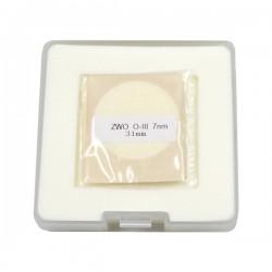 ZWO 31mm OIII 7nm Narrowband Filter - UNMOUNTED - Mark II