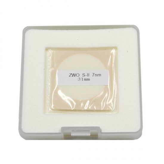 ZWO 31mm SII 7nm Narrowband Filter - UNMOUNTED - Mark II
