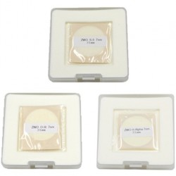 ZWO 31mm H-alpha, SII, OIII 7nm Narrowband Filter Set - UNMOUNTED - Mark II