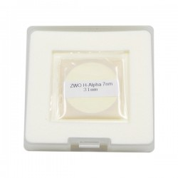 ZWO 31mm H-alpha 7nm Narrowband Filter - UNMOUNTED - Mark II
