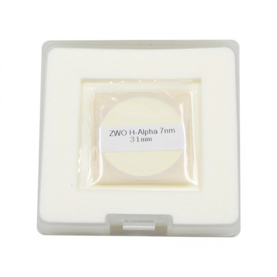 ZWO 31mm H-alpha 7nm Narrowband Filter - UNMOUNTED - SPECIAL PROMOTION