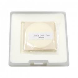 ZWO 36mm OIII 7nm Narrowband Filter - UNMOUNTED - Mark II