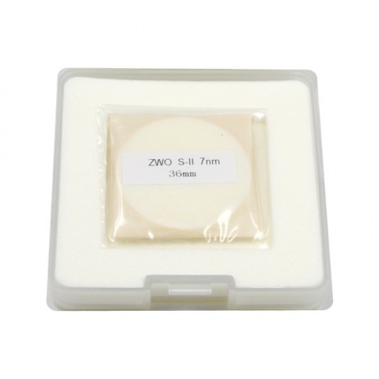 ZWO 36mm H-alpha SII OIII 7nm Narrowband Filter Set - UNMOUNTED - Mark II