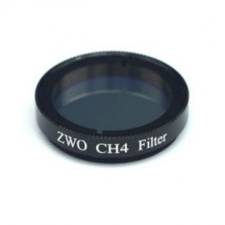 """ZWO CH4 Methane Band-pass 20nm FWHM Filter (31.7mm, 1.25"""")"""