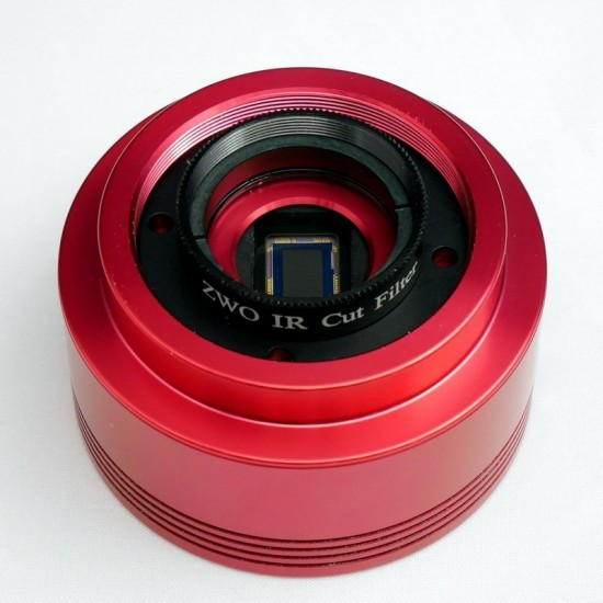 """ZWO T2-1.25"""" Filter Adapter with M28.5 Female and T2 (M42x0.75) Male Thread"""