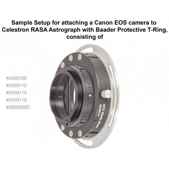 "Baader UFC S70 11"" RASA Telescope Adapter for Baader Universal Filter Changer (optical length 3mm)"