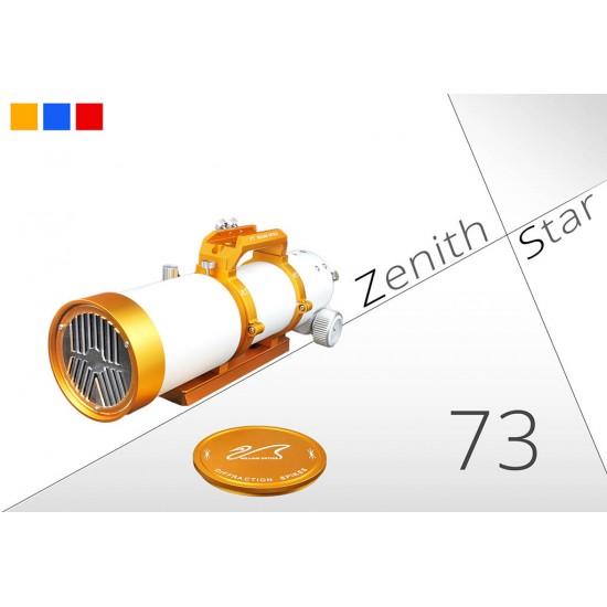 William Optics ZenithStar 73 ED APO Apochromatic Doublet Refractor Telescope - GOLD