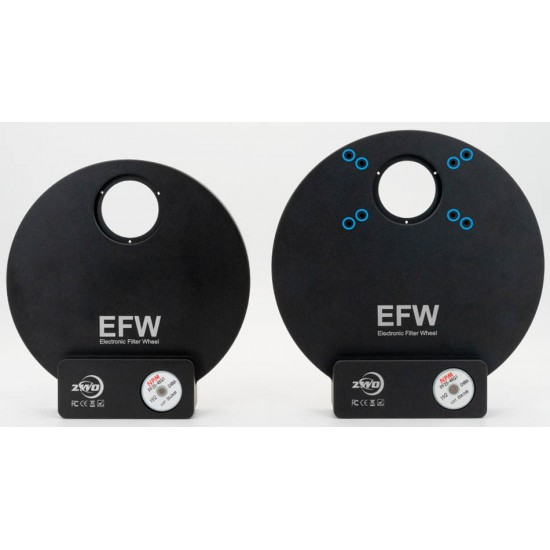 ZWO EFW 7-position Filter Wheel for 36mm Unmounted Filters - Mark II