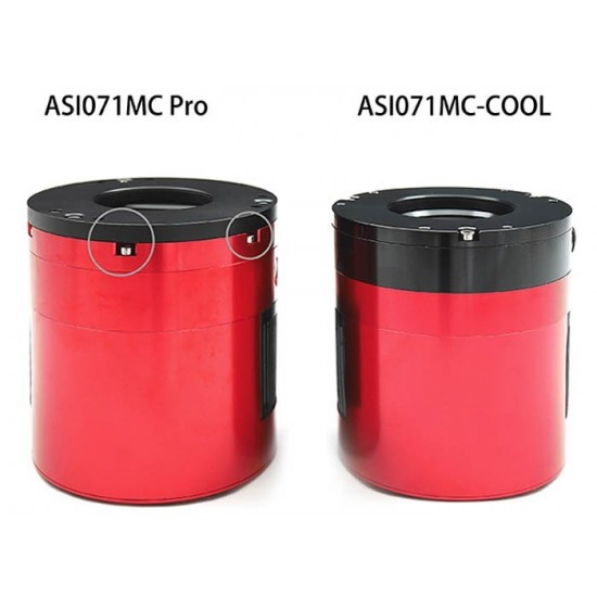 "ZWO ASI071MC PRO COOLED Colour APS-C (1.8"") One Shot Colour Deep Sky Imaging Camera - BLACK FRIDAY"