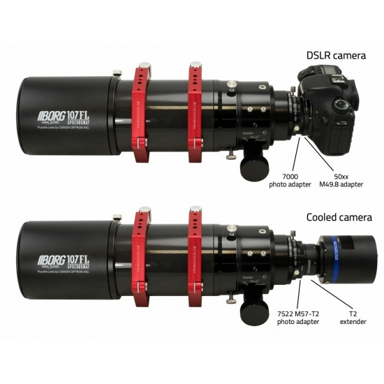 "Borg Fluorite Apochromatic Refractor 107FL f3.9 with ESATTO 3"" Motorised Focuser"