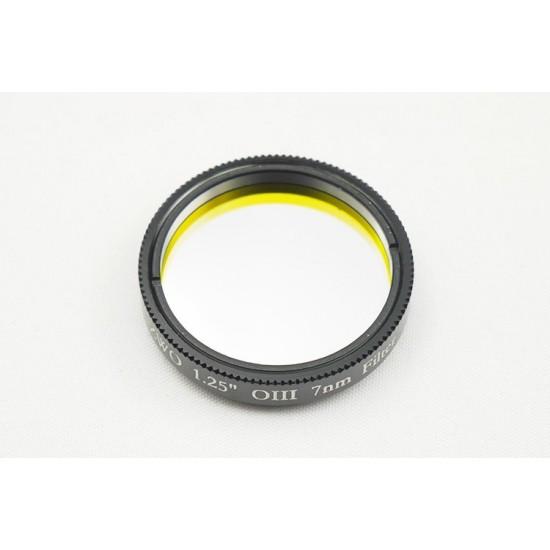 "ZWO 1.25"" OIII 7nm Narrowband Filter - Mark II"