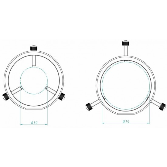 Primaluce Lab Guide Rings PLUS 80mm