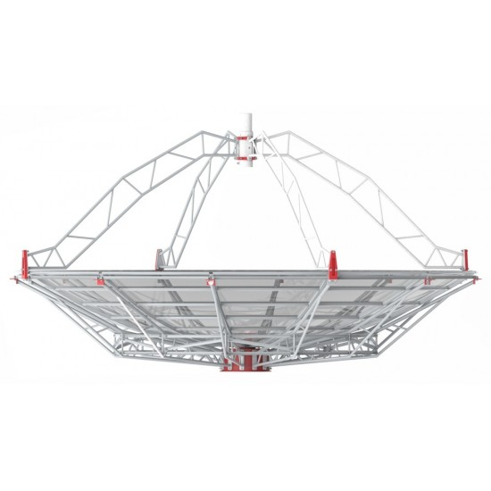 SPIDER 500A 5m Professional Radio Telescope with 1.42GHz Receiver on Weatherproof Alt-Az Mount