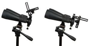 Mit der MicroStage II lassen sich Kompaktkameras hinter fast jedem Gerät platzieren und leicht zur Seite schwenken