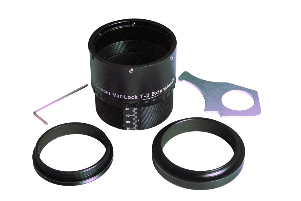 Baader Varilock 46 Lockable T2 Extension Tube with tools