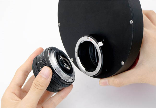 "Nikon lens adapter for 2""Filter Wheel-11"