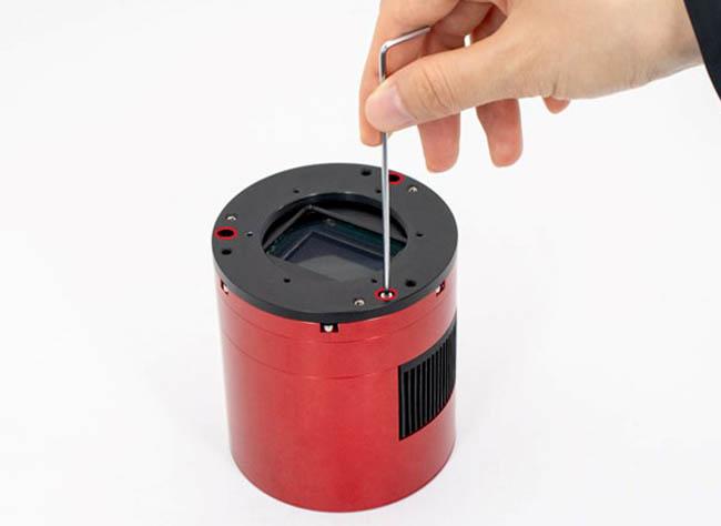 "Nikon lens adapter for 2""Filter Wheel-5"