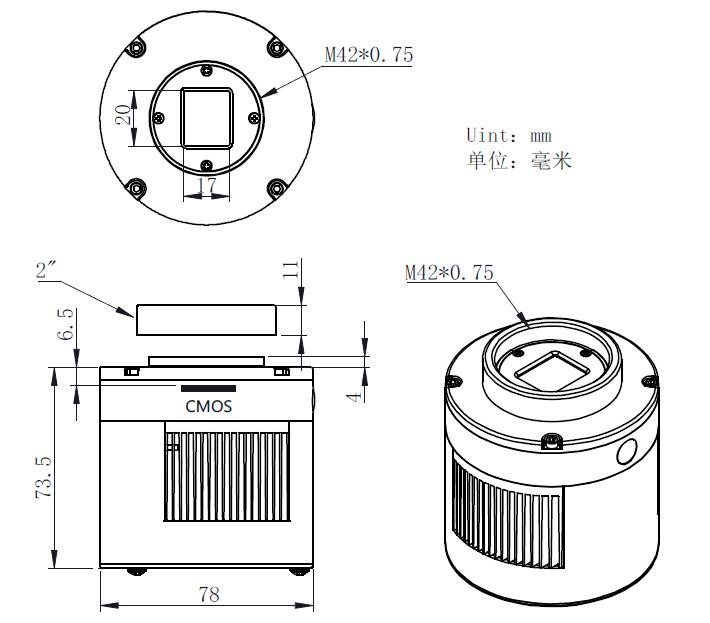 ASI533-Mechanical Diagram