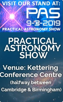 Practical Astronomy Show 2019, Kettering, 9 March 2019