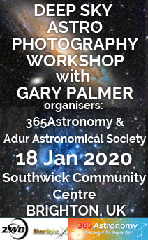Deep Sky Astro Photography Workshop with Gary Palmer, 18 January 2020
