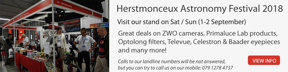 Visit us at the Herstmonceux Astronomy Festival