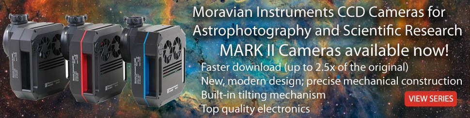 Moravian Instruments CCD and CMOS Cameras