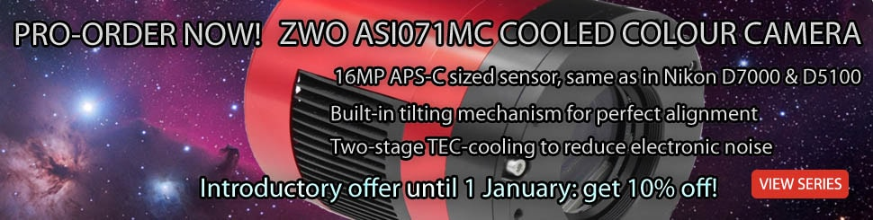 ZWO ASI071MC-COOLED CAMERA