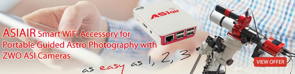 ASIair Smart wifi accessory for portable guided astro photography with zwo asi cameras