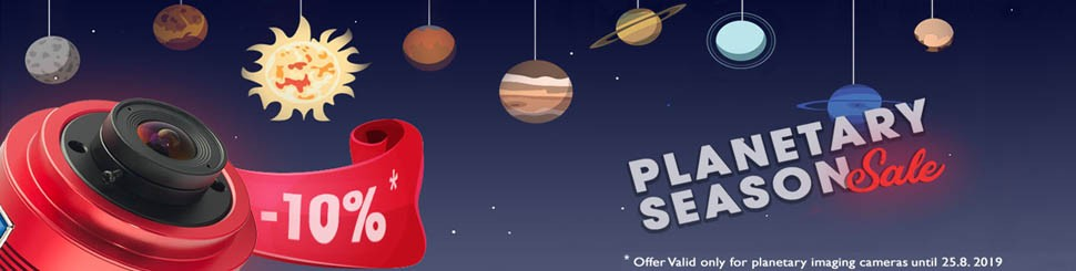 ZWO Summer Holiday Offer - Planetary Camera Sale
