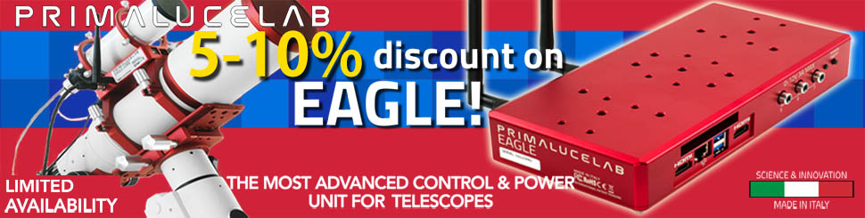 Primaluce Lab Eagle3 Promotion - 5% - 10% Dsicount