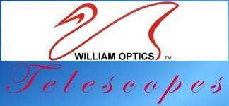 All William Optics Telescopes