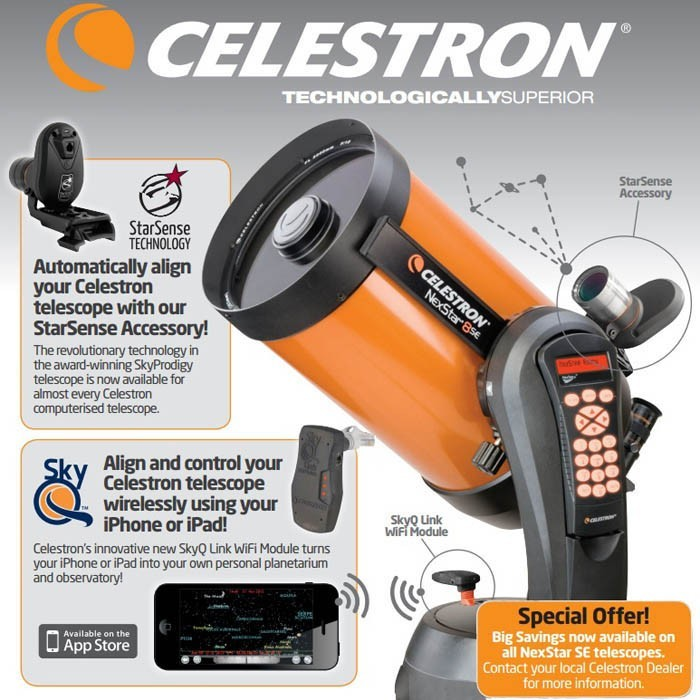 Celestron Nexstar SE and SkyProdigy Telescopes